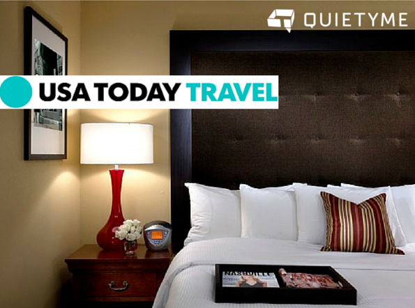 USA Today Travel talks about hotel noise and Quietyme
